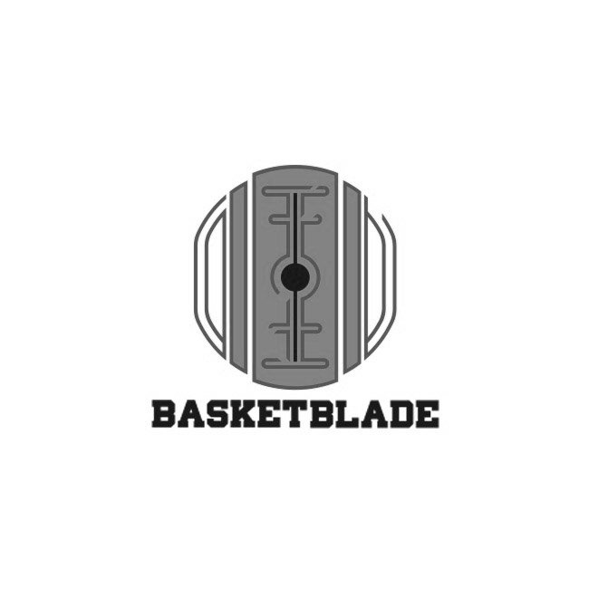 basket blade logo basketball brand grafica