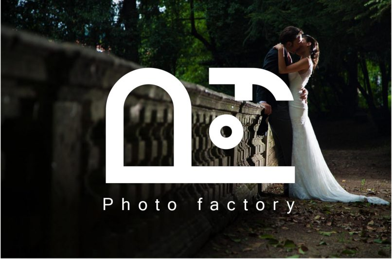 photo factory logo design grafica