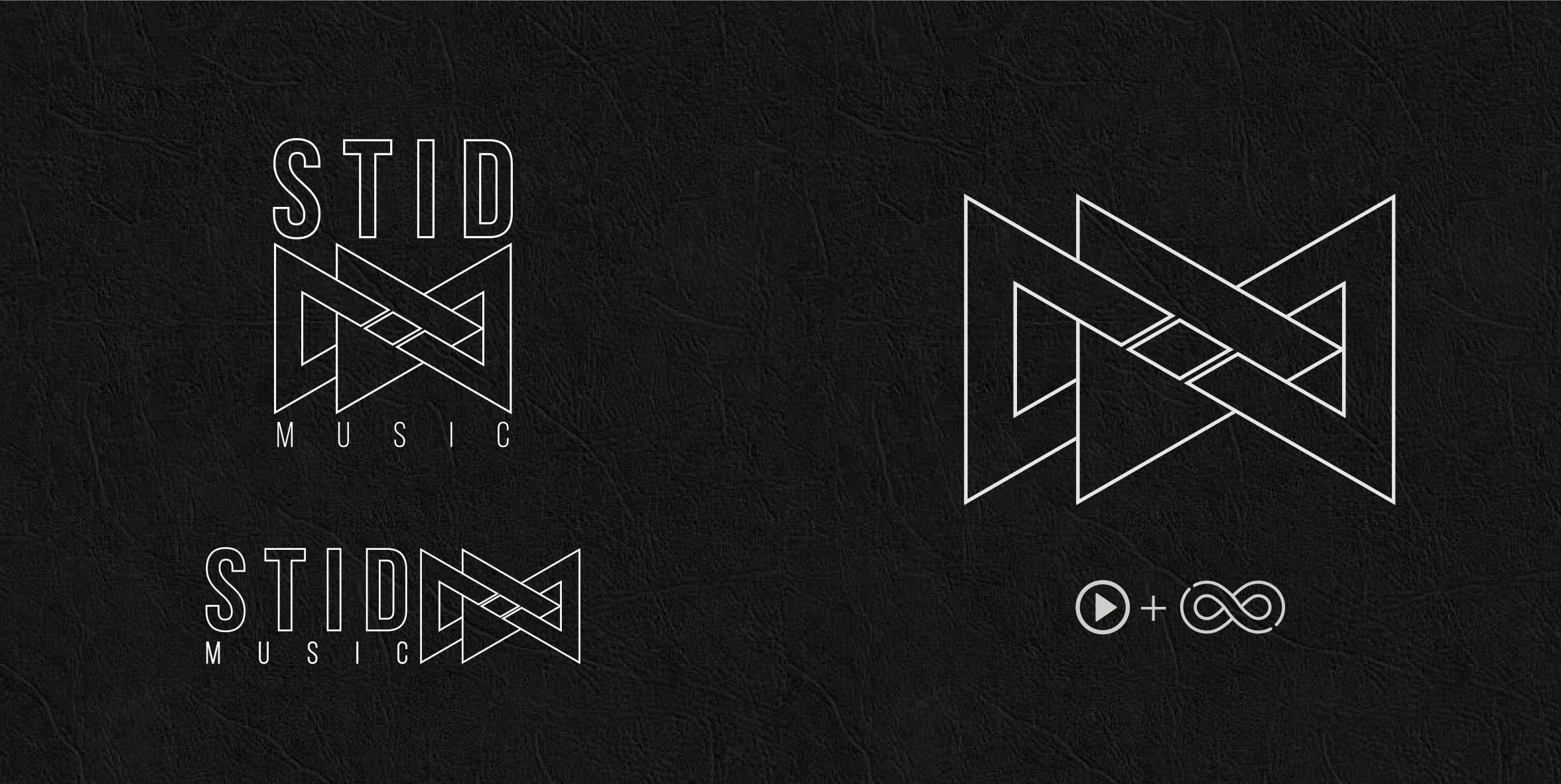 realizzazione logo infinito triangoli
