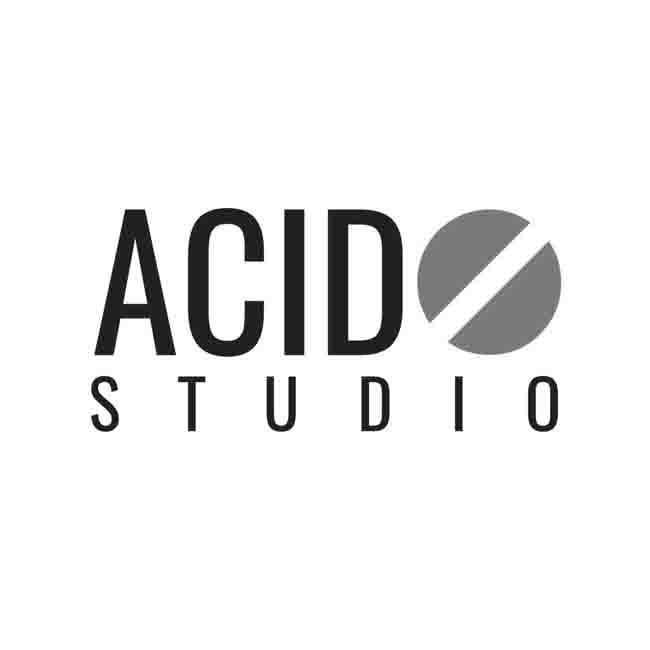 acido studio fotografico logo fotografo moda