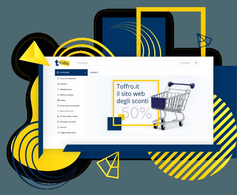 Creazione sito eCommerce web agency wireup