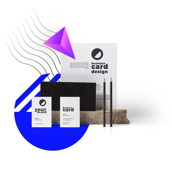 agenzia grafica biglietto da visita businesscard