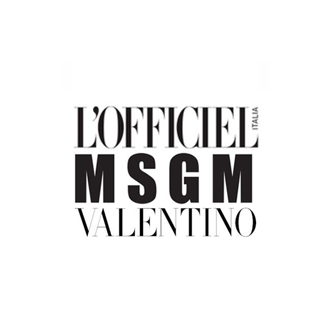editorial officiel italia msgm valentino