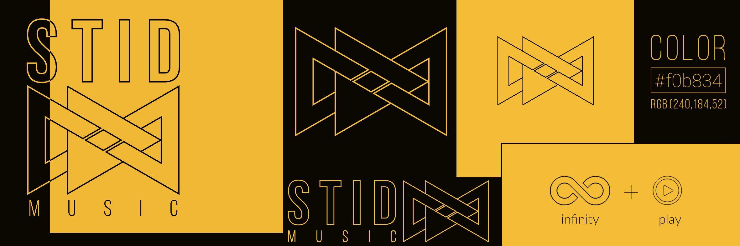 logo design infinity play music stid