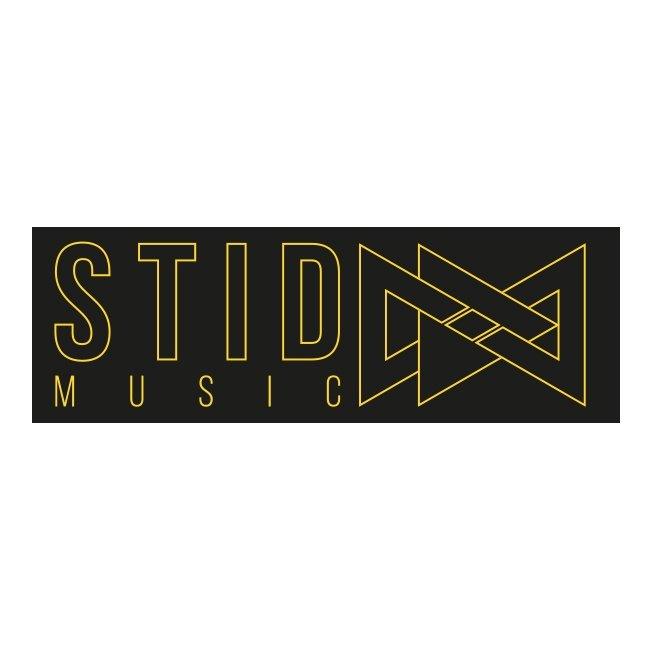logo stid music grafica triangoli