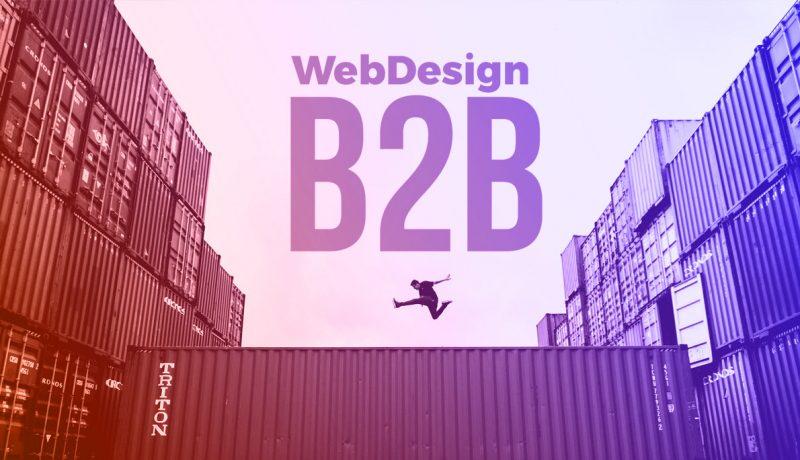 migliori web design b2b esempi