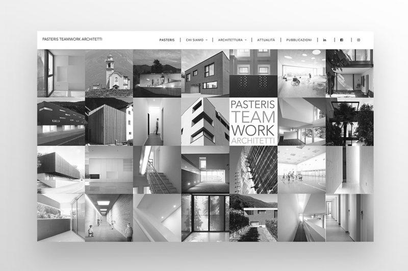 sito web architettura studio achitetti foto