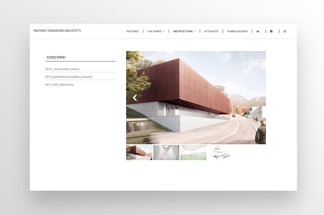 sito web studio architetti