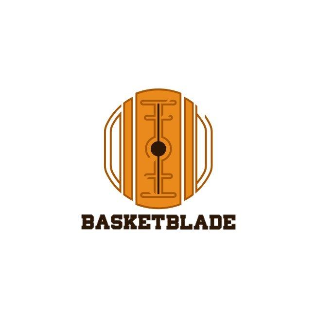 basket blade logo basketball brand identity agenzia grafica