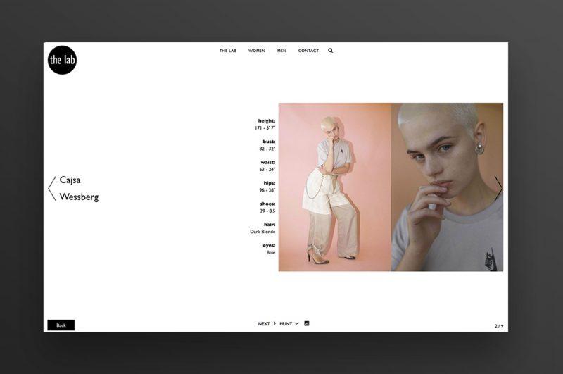 sito web agenzia modelle milano book