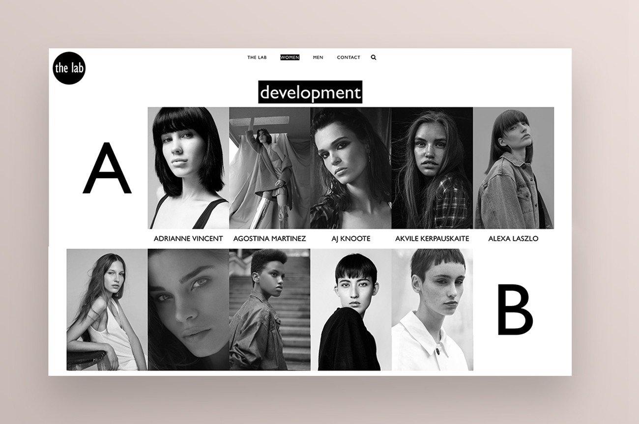 sito web Agenzia modelle