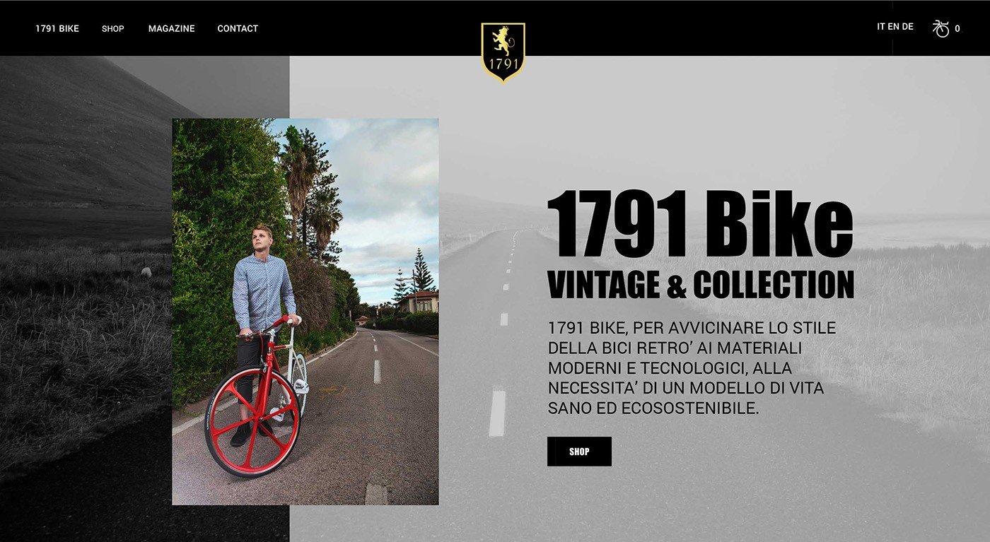 e commerce bike realizzazione sito web negozio online bicilette slide