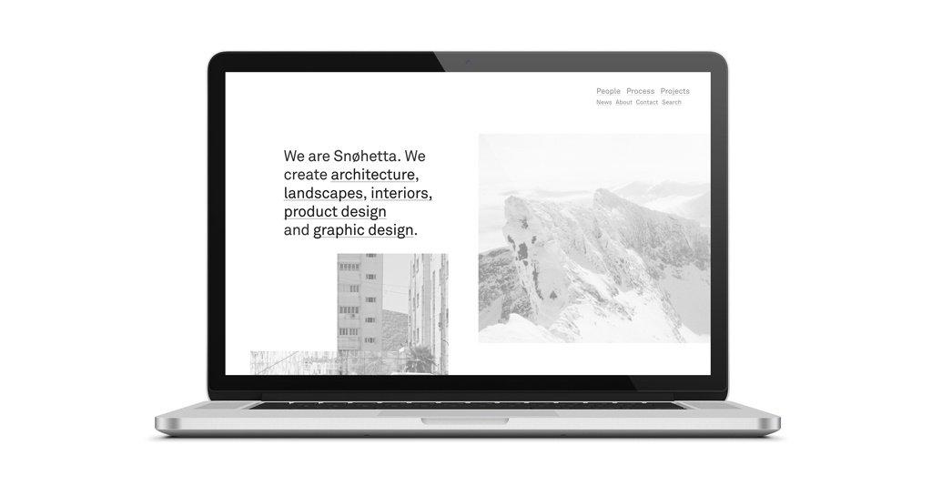 snohetta sito architettura siti architetti