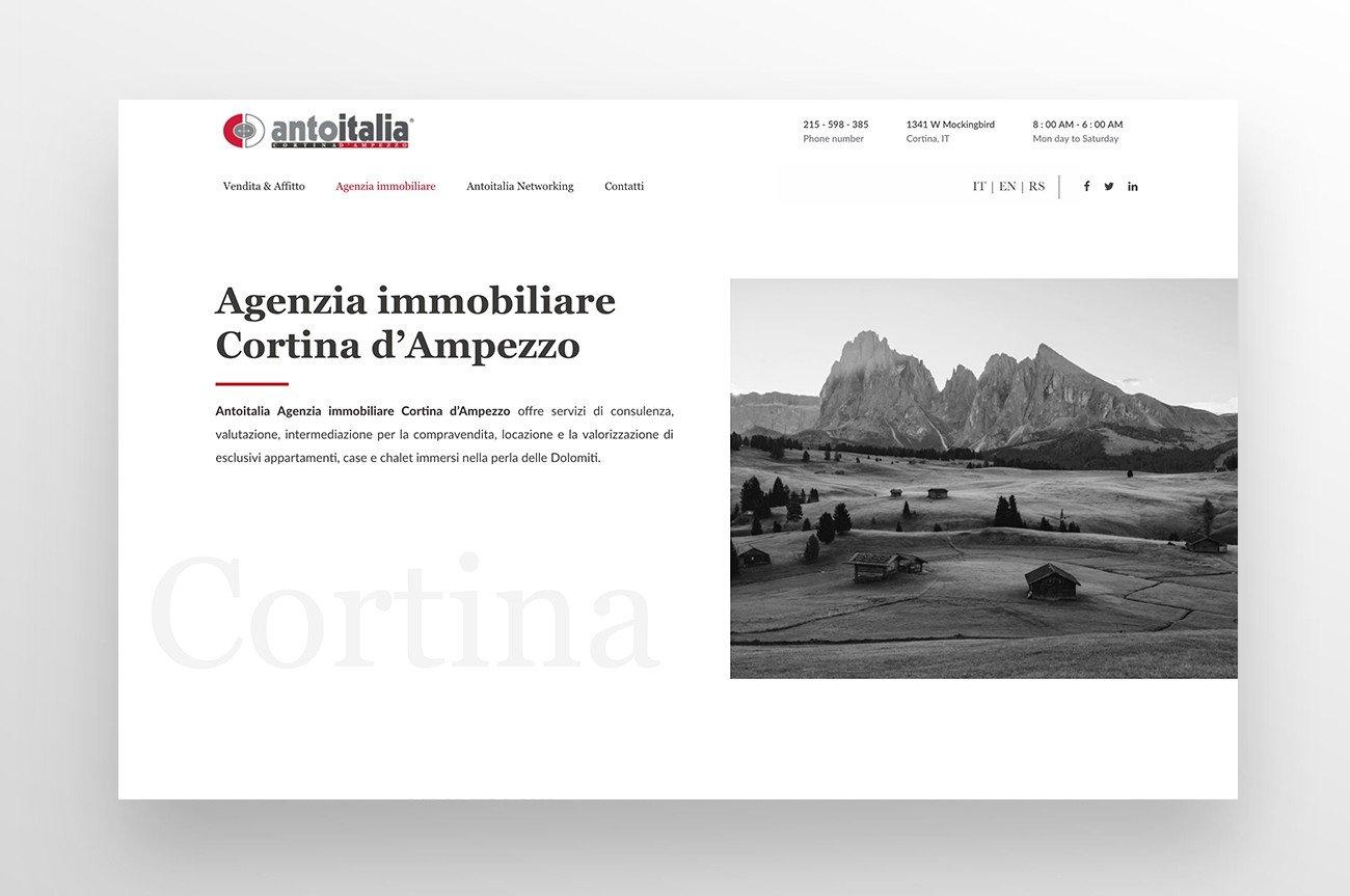 sito web architettura