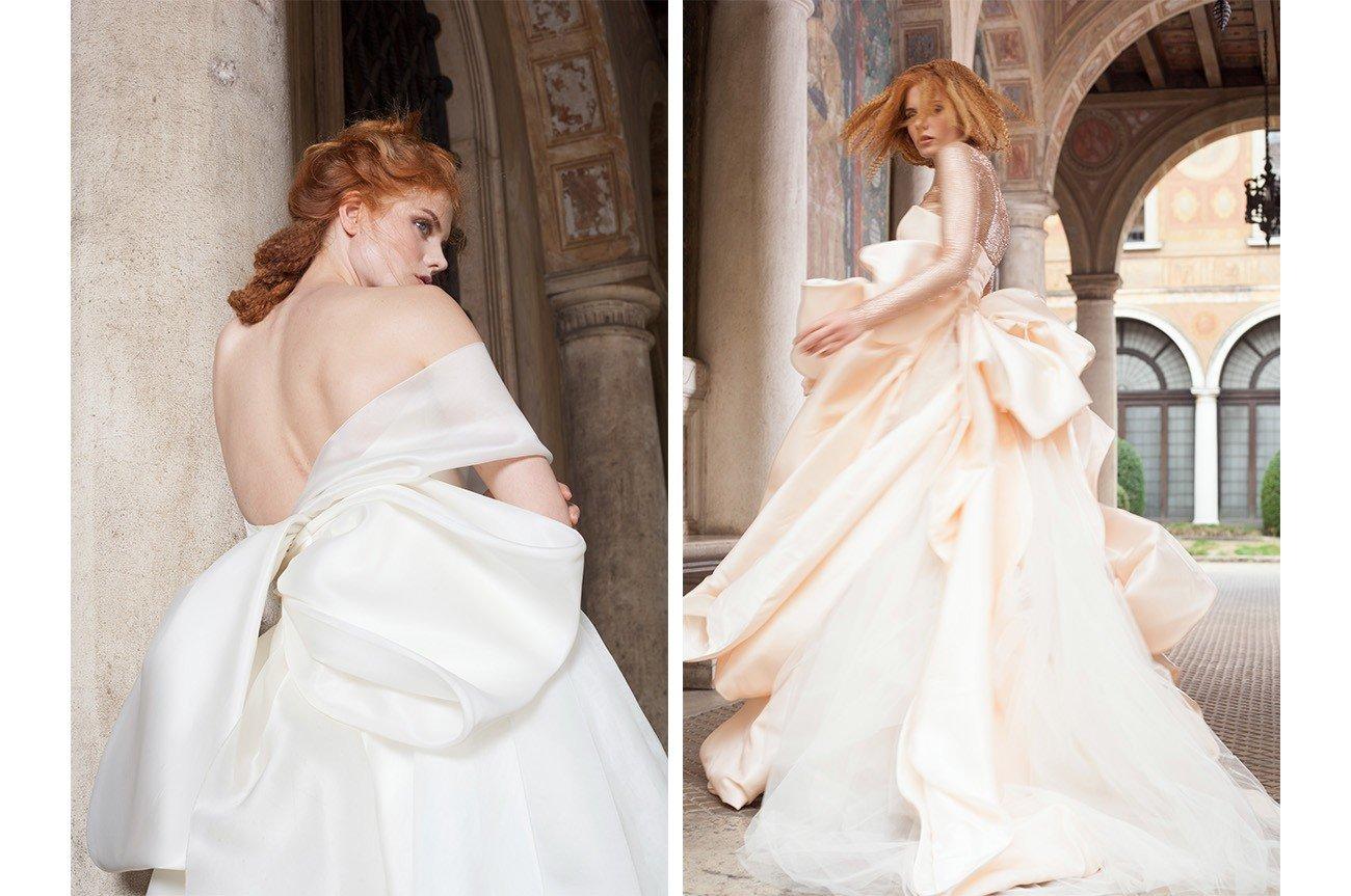 foto catalogo vestiti da sposa campagna pubblicitaria