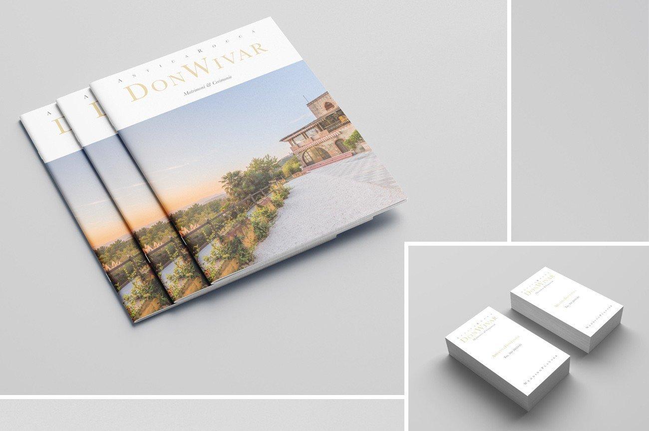 realizzazione brochure eventi e grafica biglietto da visita