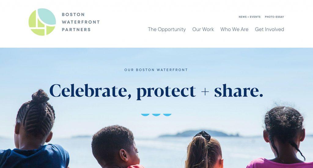 esempi siti web belli boston waterfront partners