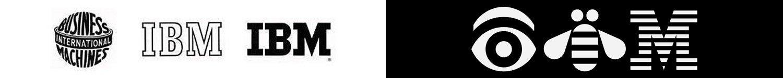 evoluzione storica e rebus logo ibm loghi famosi