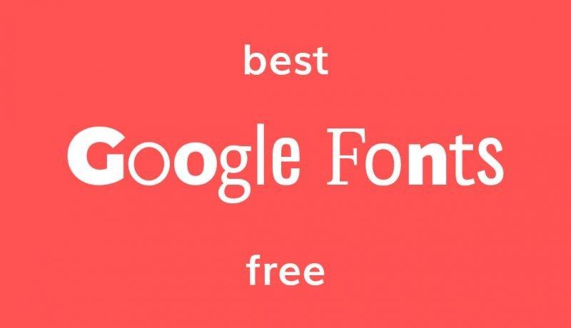 i migliori Google Fonts gratuiti