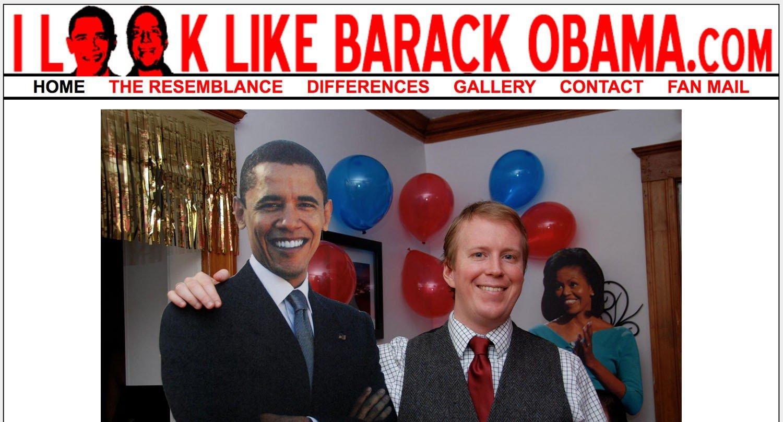 sito assurdo assomiglio a Barak Obama