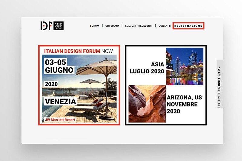 sito web architettura design web agency milano