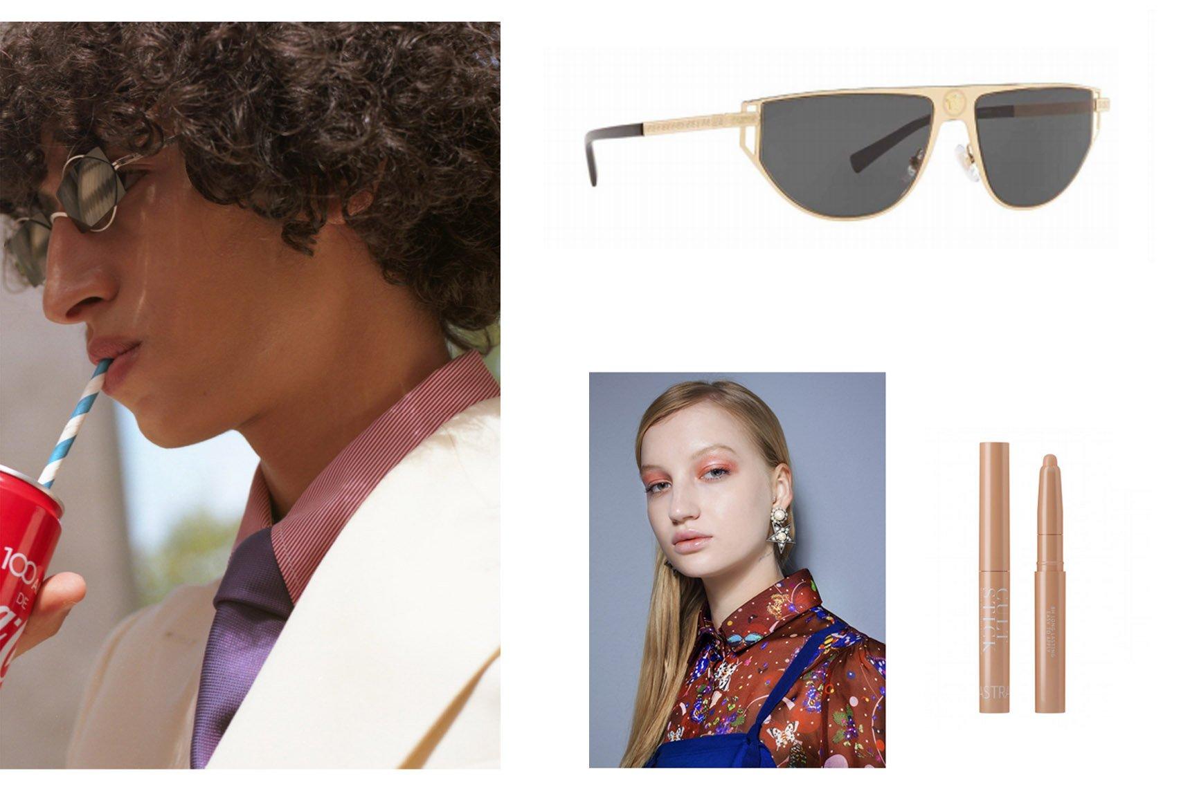 foto per ecommerce milano beauty make up occhiali da sole